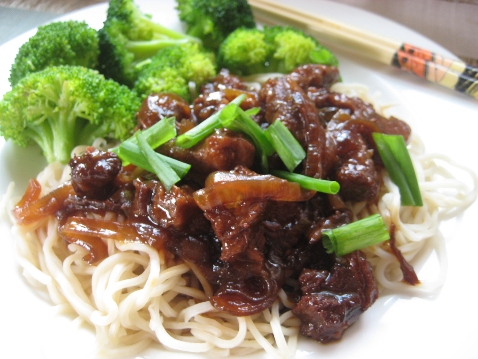 Slow cooker mongolian beef - an easy, delicious dinner