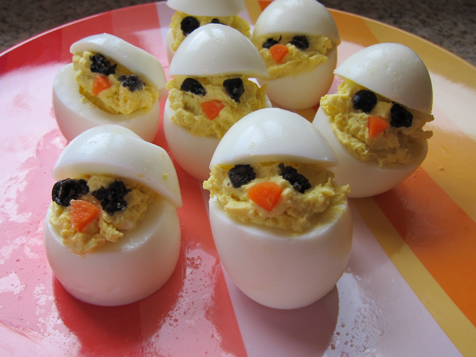 Adorable Deviled Eggs | Saucy Mommy