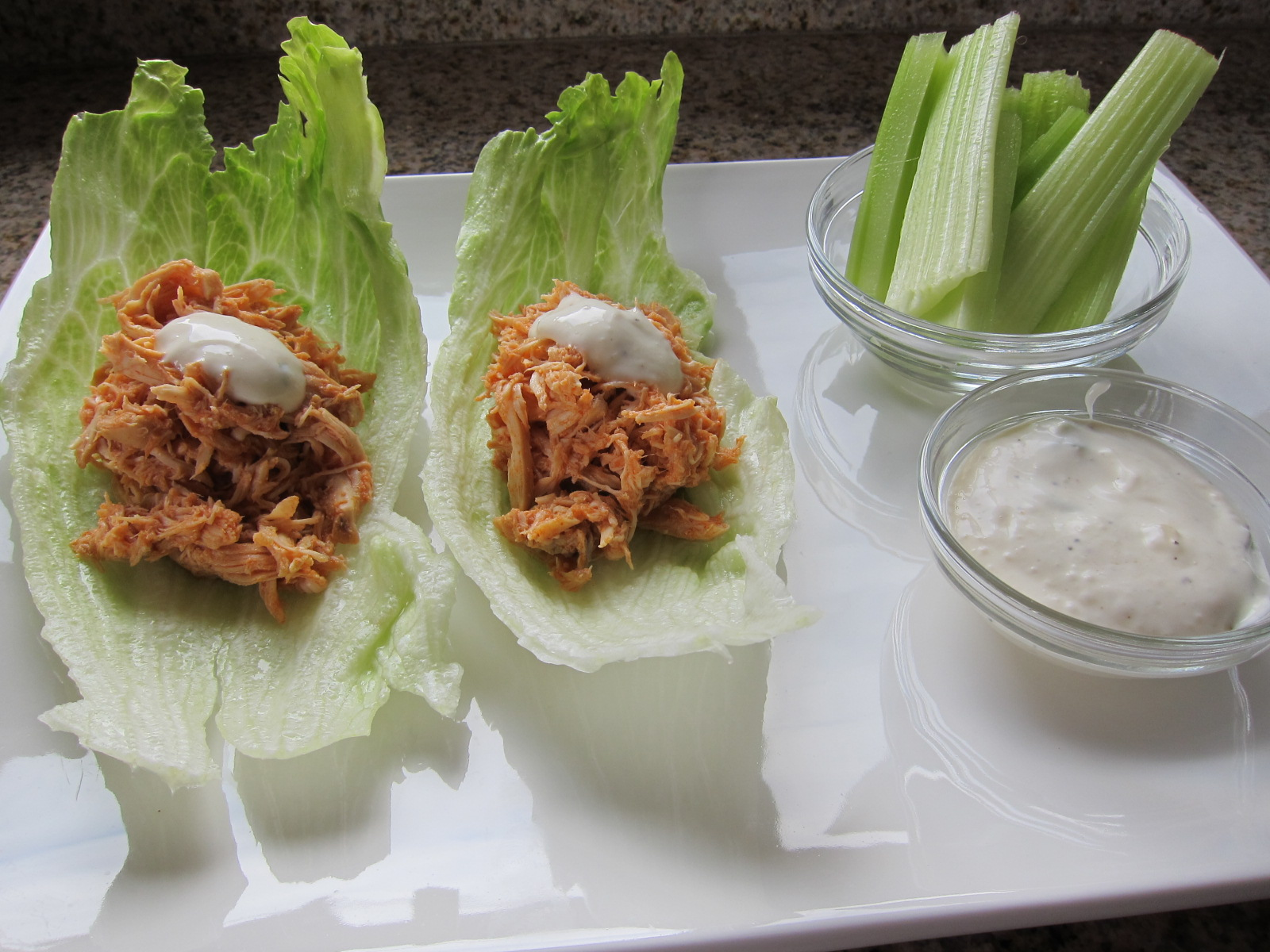 lettuce wraps crock pot buffalo chicken crock pot buffalo chicken if ...