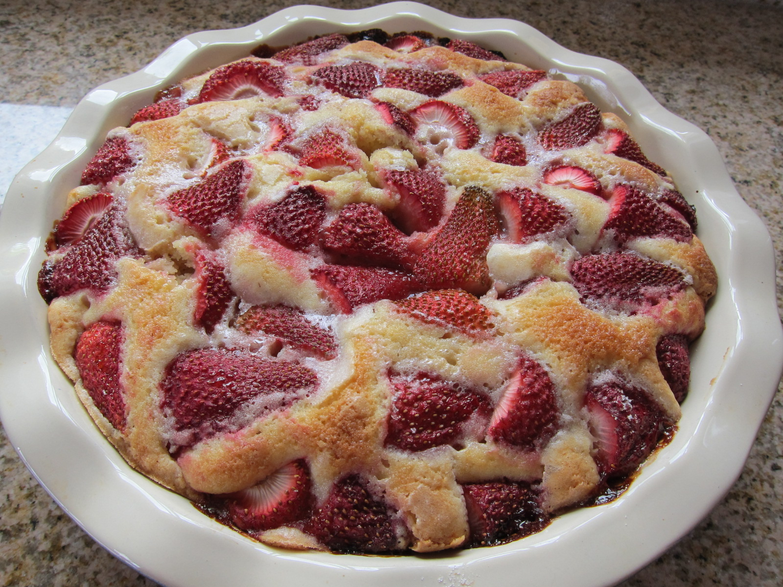 strawberry summer cake jpg strawberry summer cake by jam the cake is ...